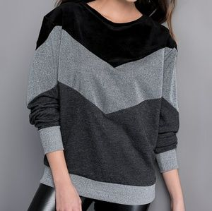Tops - Anthracite Sweatshirt